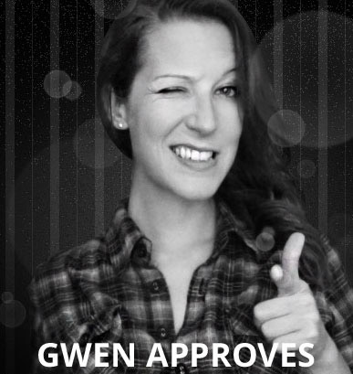gwen approves