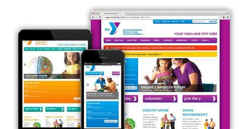 YMCA Responsive website
