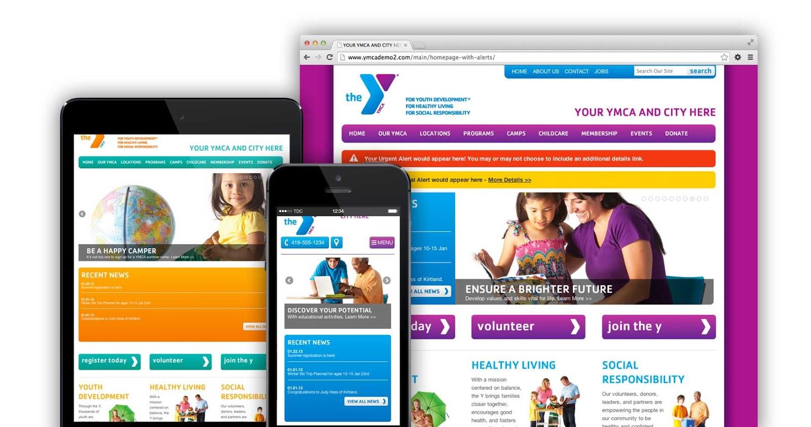 Responsive YMCA